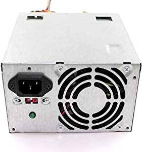 Genuine Dell XW600 Replacement 300 Watt Power Supply (PSU) Power Brick Power Source For Inspiron 518, 530, 531, 541, 560, 580, Vostro 200, 220, & 400 Small Mini Tower (SMT) Systems, Compatible Dell Part Numbers: 9V75C, C411H, D382H, FFR0Y, H056N, H057N, HT996, J036N, K932C, N189N, N383F, N385F, N6H3C, P981D, PKRP9, R215C, R850G, R851G, RJDR3, XW599, XW601, Y359G, YX309, YX445, YX446, YX448, YX452, KF76H, Compatible Model Numbers: DPS-300AB-24 G, HP-P3017F3, HP-P3017F3LF, PS-5301-08, PS-6301-6, DPS-300AB-36B, ATX0300D5WB, PS-6301-02, 04G185015510DE, DPS-300AB-24 B, DPS-300PB-3, DPS-300PB-3C, DPS-300PB3A