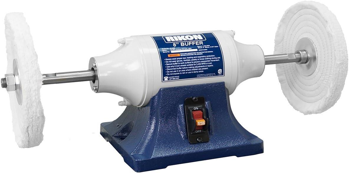 Rikon Model 81-608: 8″ Low Speed Buffer