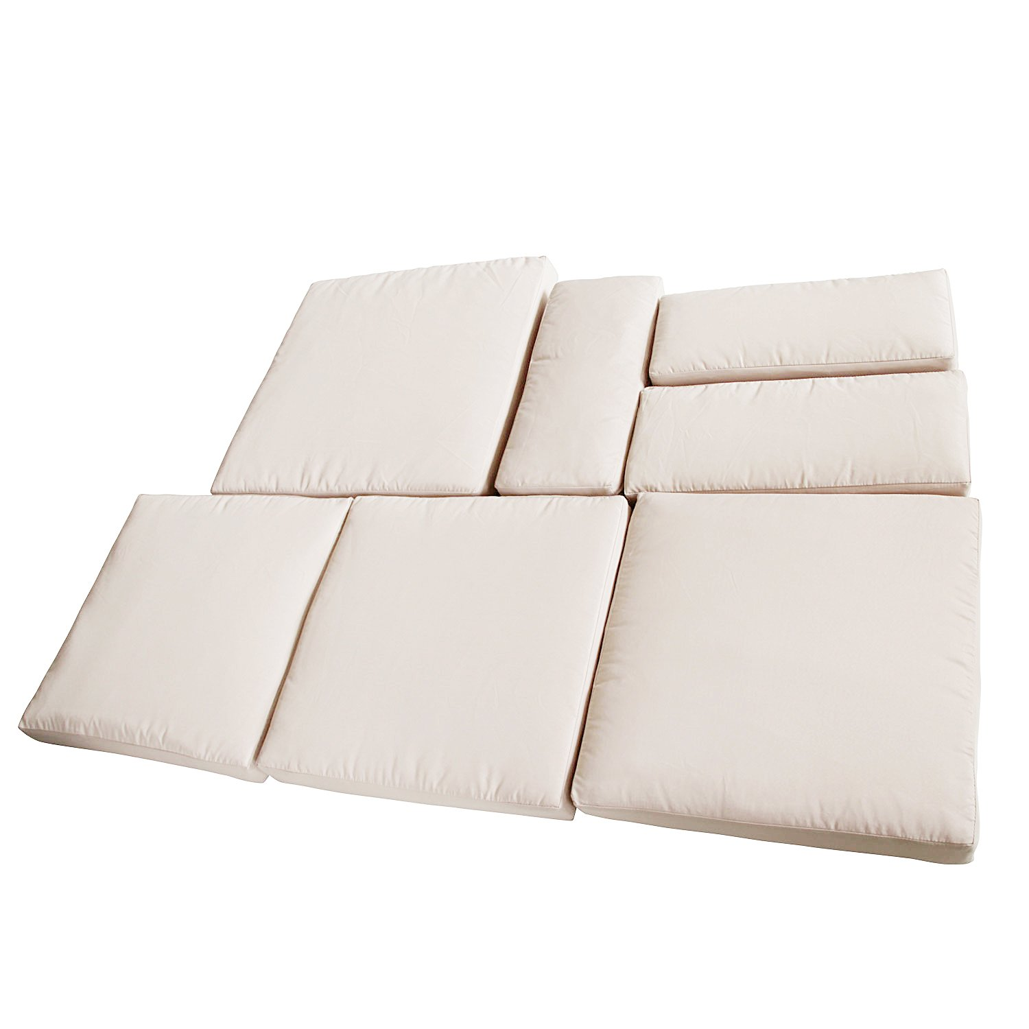 patio furniture cushion covers. Outsunny Rattan Garden Wicker Patio Furniture Cushion Cover Sofa Replacement: Amazon.co.uk: \u0026 Outdoors Covers T