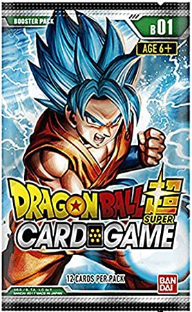 Asmodee BCLDBBO7092 Dragon Ball Super CG: Booster Pack B01 Batalla Galáctica
