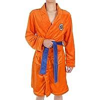 EDMKO Noche Robe para Niños Adultos Dragon Ball Son Goku Cosplay Bata De Felpa Bata De Baño con Cinturón Suave Agradable…
