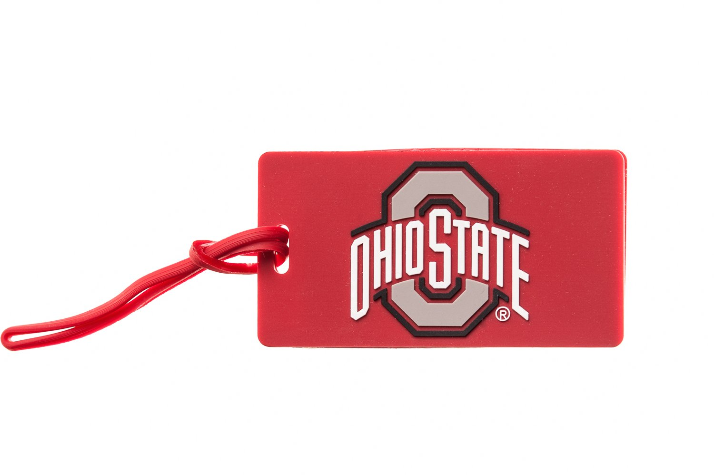 OHIO STATE BUCKEYES NCAA PVC LUGGAGE TAG