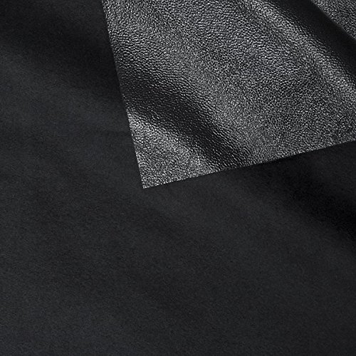 ProSoft Stretch-FIT Organic Cotton Fleece Waterproof 1 mil PUL Fabric (Made in USA, Black, sold by the yard)
