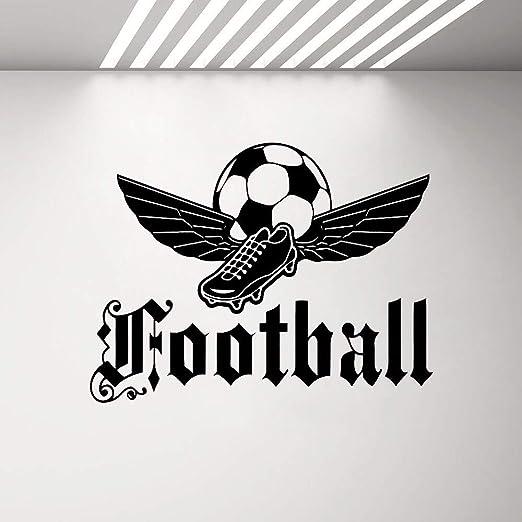 Crjzty Emblema de fútbol Tatuajes de Pared Dormitorio para niños ...