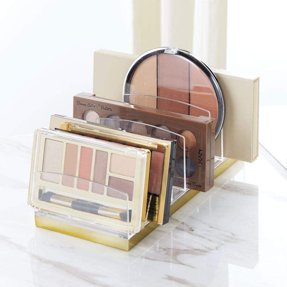 Amazon.com: MDesign - Organizador de maquillaje de plástico ...