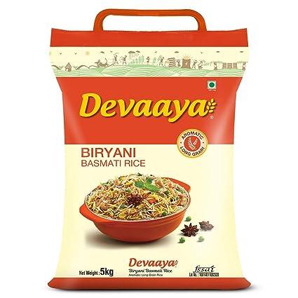 Devaaya Biryani Basmati Rice, 5 kg