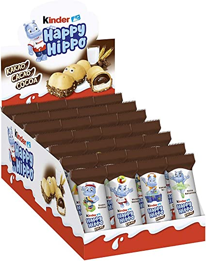 Kinder Happy Hippo - 1 x 20,7 g.: Amazon.es: Hogar