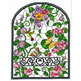 M & R Technologies 2813 Summer Stained Glass Counted Cross Stitch Kit