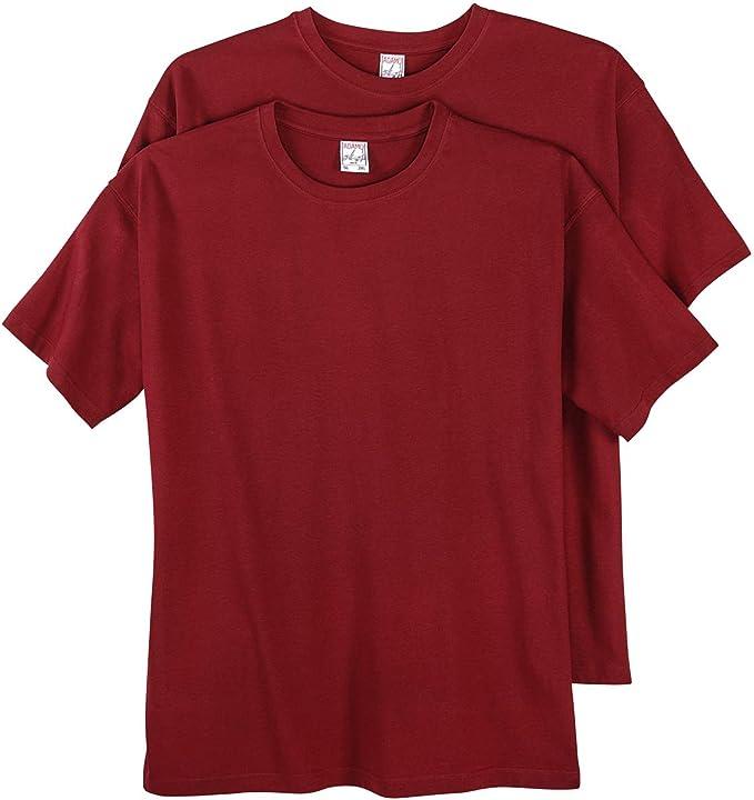 12XL Herren T-Shirt Shirt Bedruckt Kurzarm Shirts Baumwolle Übergrößen 2XL