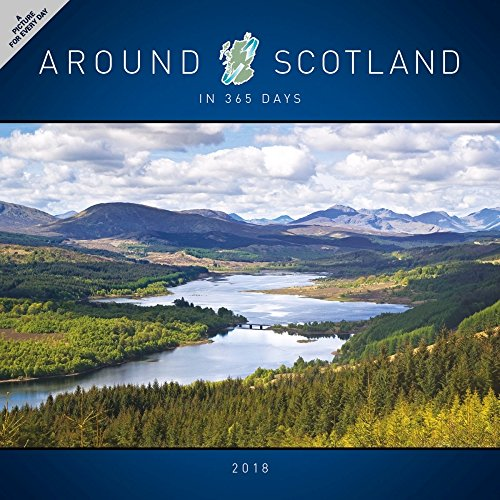 Turner Licensing  PHOTOGRAPHIC Around Scotland In 365 Days 2018 Wall Calendar (18998027299)