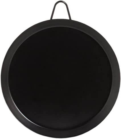 11 Inch hornillo, plancha Pan – Sartén de parrilla de acero carbono Comal Pan – Comal para tortillas