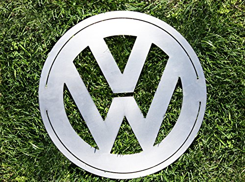 CCR Products Volkswagen VW Sign Emblem Small 12