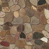 Bedrosians DECHEMSP-KS''Hemisphere'' Sliced Pebble Polish, Kona Sand