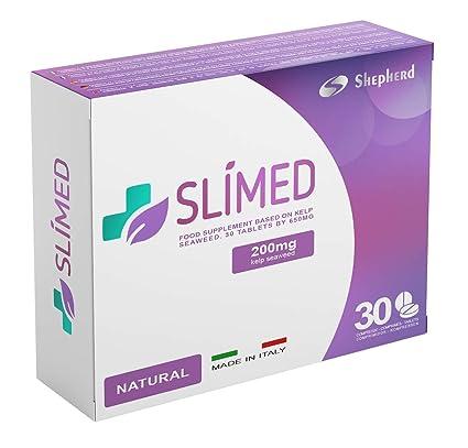 Slimed Natural 200mg 30 Comprimidos | ADELGAZAR FUERTE: Quema Grasas Rápidamente, Detiene el Hambre y Acelera el Metabolismo, 100% Natural sin ...