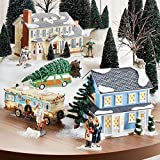Department 56 Original Snow Village Todd and Margos House, 7.05-Inch