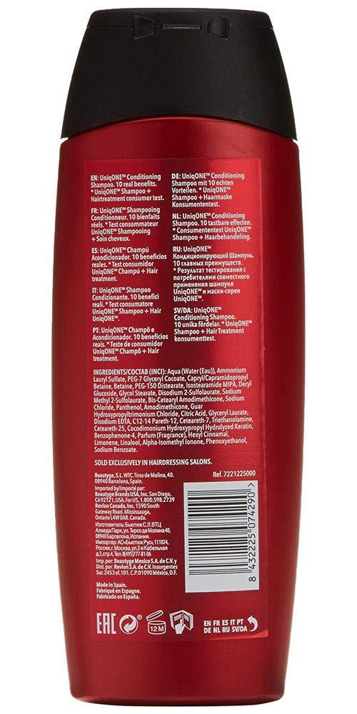 REVLON PROFESSIONAL Uniq One Shampoo Anti Frizz für Glänzendes Haar, 300 ml