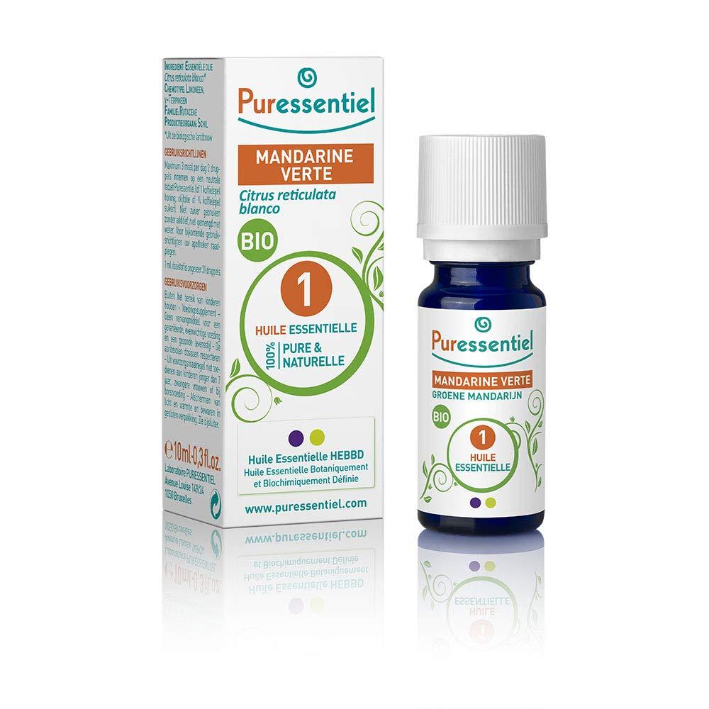 Laboratoire Puressentiel Mandarine Verte Bio Huiles Essentielles OE2016-29