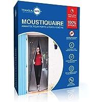 TRANQUILISAFE® Magnetisch vliegengaas voor deuren en ramen - magnetisch vliegengaas - vliegengaas automatische deur…