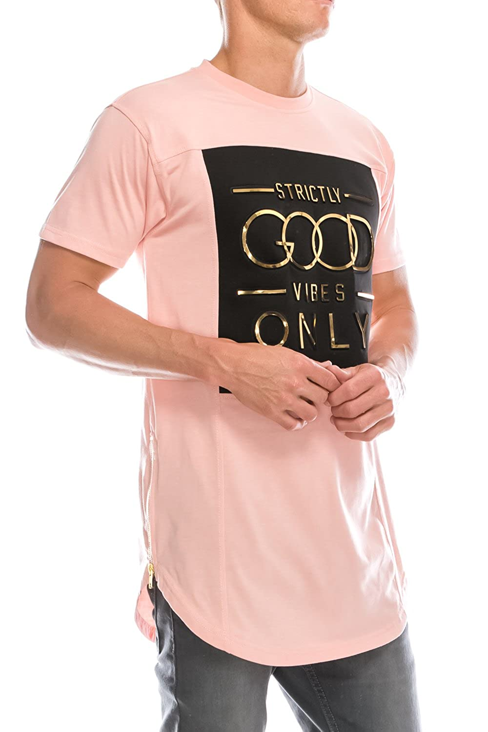 1db00247e2f446 UPSCALE Men s Good Vibes T-Shirt