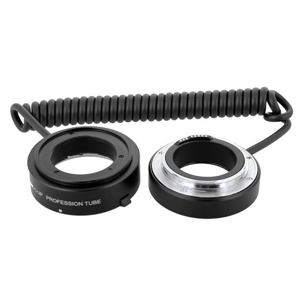 Meike Automatic AF Auto Focus Multifunctional E-macro Extension Tube MK-C-UP Macro & Reverse Mount On Lens with 58mm 67mm 72mm 77mm Adapter Rings for Canon EF/EF-S Mount Lenses by Meike