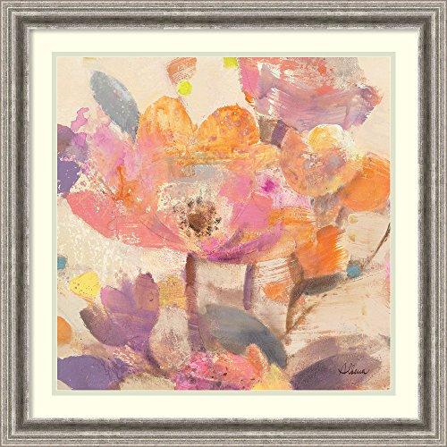 Framed Art Print 'Vibrant Crop I' by Albena Hristova