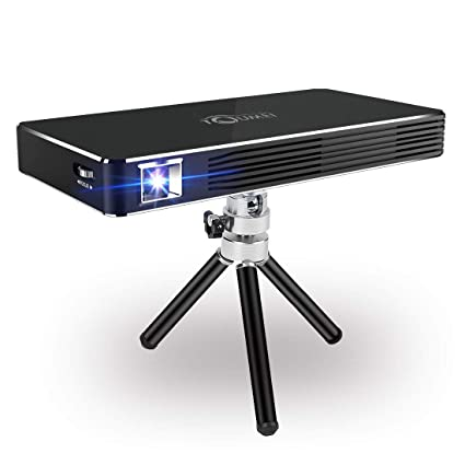 a2d311c5cbff36 Amazon.com: Mini Android Projectors,New 7.1 System Mobile Projector Support  Wired or Wireless iPhone & Android Home Cinema Player Include  Warranty(Black): ...