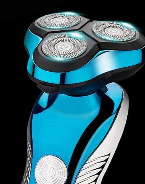 Czz Afeitadora Eléctrica 4D, Máquina De Afeitar Recargable, Cuchillo De Afeitar De Los Hombres Inteligentes De La Colada del Cuerpo,A,Maquinilla: Amazon.es: ...