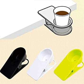 Lyanther Portavasos Clip-Table Bottle Cup Stand El DIY Glass Clamp Storage Clip del platillo
