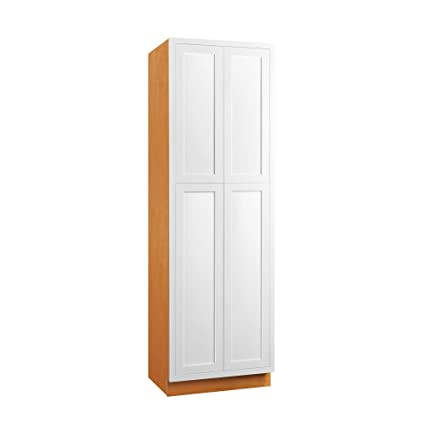 Enjoyable Amazon Com Inset Modern Shaker Style Rta Birch Wood Pantry Download Free Architecture Designs Ferenbritishbridgeorg