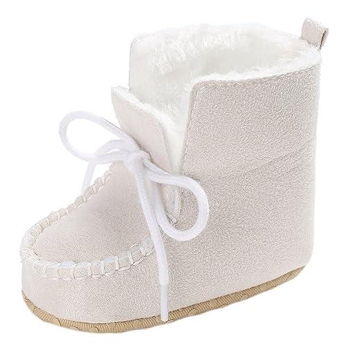 GEMVIE Zapatos Patucos De Bebé Unisex Primeros Pasos Antideslizante Invierno Marrón Longuitud de pie 13cm uGPdJV