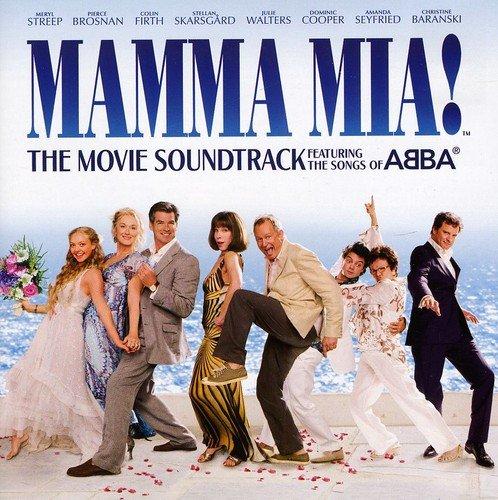 Resultado de imagen de MAMMA MIA MOTION PICTURE CAST RECORDING cd