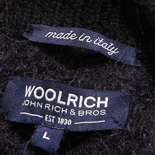 Woolrich Nero Nero Sweater Maglione Donna Wool blu Blu 3579v Woman ZqpSfxwE7
