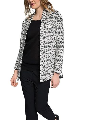 ESPRIT mit Leo-Muster - abrigo Mujer