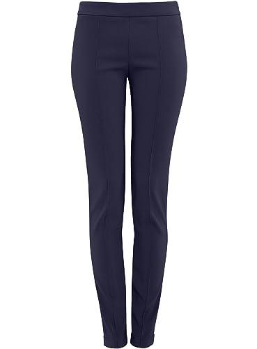 oodji Ultra Mujer Pantalones Clásicos Ajustados
