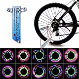 Welcomeuni 16 LED Car Motorcycle Cycling Bike Bicycle Tire Wheel Valve Flashing Spoke Light Design For Sale