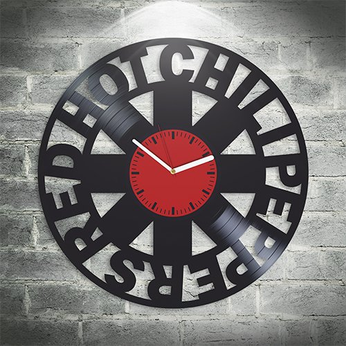 Red Hot Chili Peppers Anthony Kiedis Rock Band Music Fans, Californication, Wall Art, New Handmade Vinyl Wall Clock, Office Decoration For Studio, Best Gift For Him, Unique Design, Home Decor
