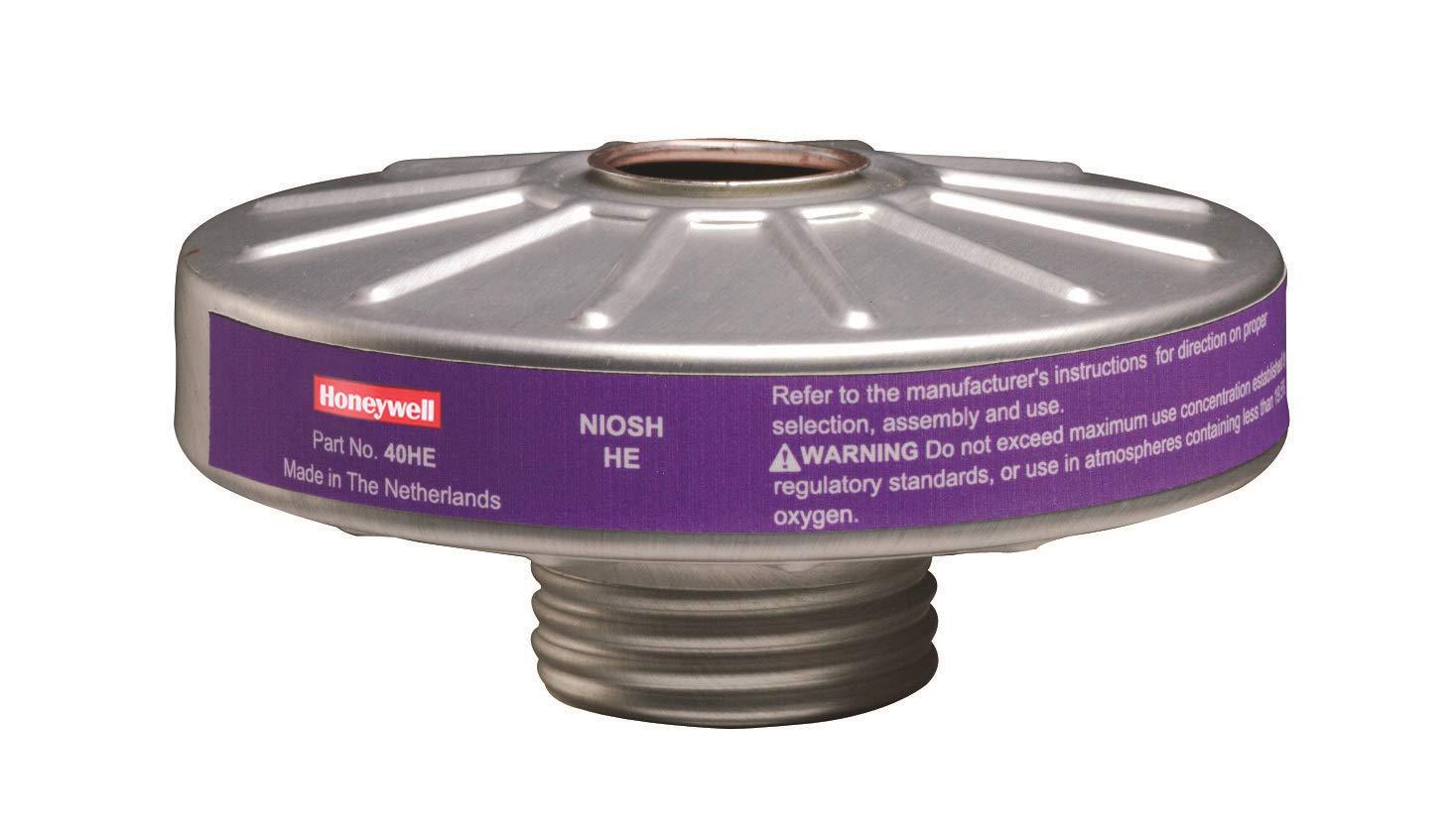 Honeywell North 40HE Filtro Hepa purificador de aire de partículas, estándar, plateado/morado (paquete de 12): Amazon.es: Amazon.es