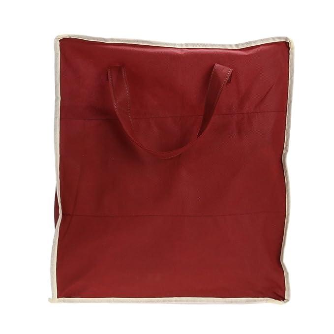 9104823bf Globeagle - Bolsa de Almacenamiento para Zapatos (Tela no Tejida, 6 Rejillas),  Color Rojo: Amazon.es: Hogar