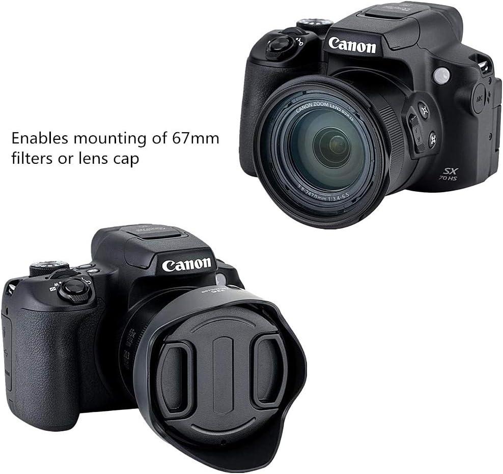 sx30 is sx50 HS sx60 HS Parasol para Canon PowerShot g3 X sx40 HS