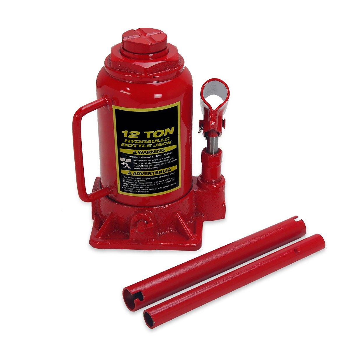 12 Ton Heavy Duty Bottle Jack