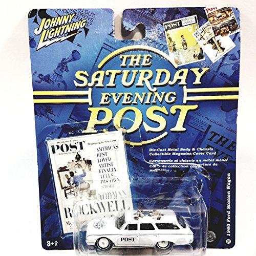 Johnny Lightning Saturday Evening Post 1960 Ford Station Wag