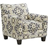 Benchcraft Denitasse Casual Upholstered Accent Chair - Parchment