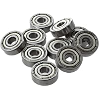 REFURBISHHOUSE 10 Pcs 625ZZ 5mm x 16mm x