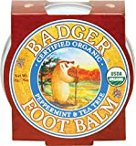 Badger Foot Balm, Peppermint & Tea Tree - .75 oz Tin