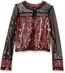 Girls Big Sequin Jacket