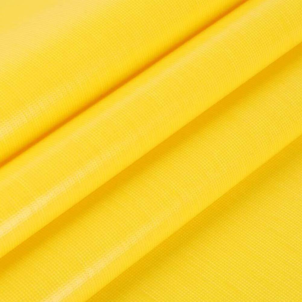 Plane Sonnenschutz PENGJUN Regensicherer Sonnenschutz Plane aus PVC-Hochleistungsplanen, verschleißfest gelb 500g / m2-0,4mm (größe : 3  5m) aba865