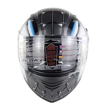 Zyy Casco, Casco Integral Estilo Retro Halley Transformers Estiramiento Facial Casco Moto Todoterreno Certificación D.O.T