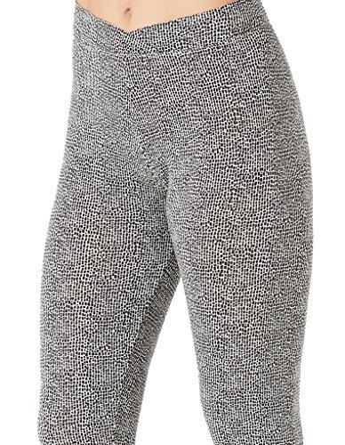 Cuddl Duds Softwear Ivory Print Modal Legging CD8617516-272