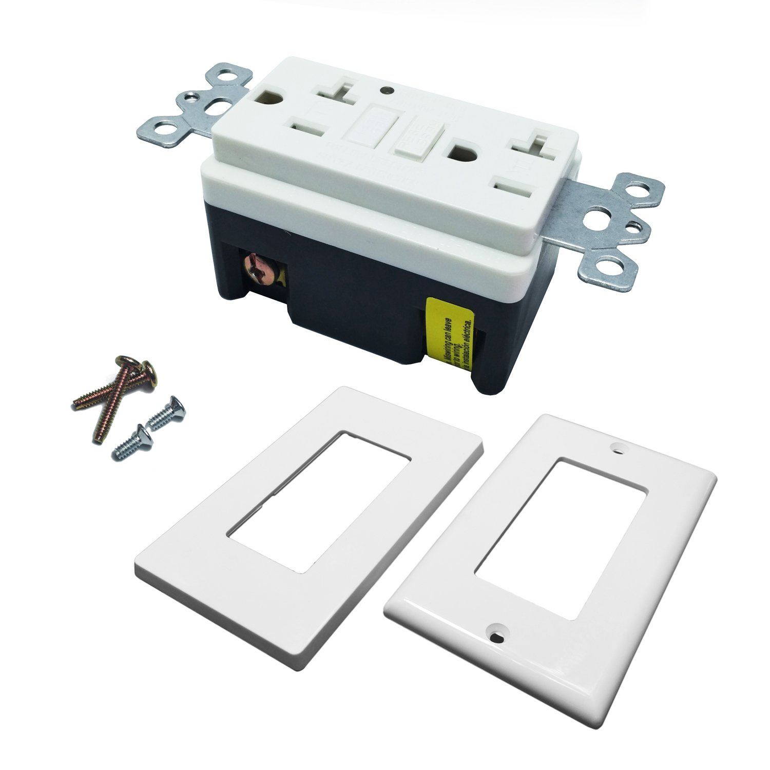 Seckatech Gfci Outlet 20a 02 20 Amp 125v Tamper Resistant Wall Gfi 15 Tr Receptacle Weather Pro Perfect For Your Daily Life Play Its Great Mission