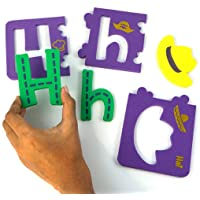 Imagimake Alpha Self-Correcting Puzzle To Learn Alphabets From A - Z, 6mm Foam (Multicolour)